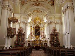 Bad Saulgau Kloster Sießen St. Martin Innen 1