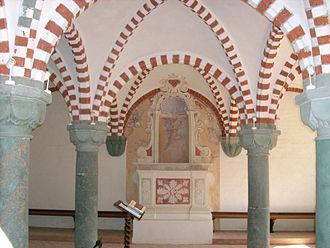 Tiglieto Abbey - Chapterhouse.