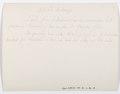 Baksida av kort, sänt från Schweiz landsmuseum till Roosval 1930 - Hallwylska museet - 102249.tif