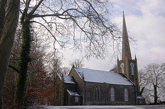 Upper Ballinderry - Ballinderry Parish Church, built 1824