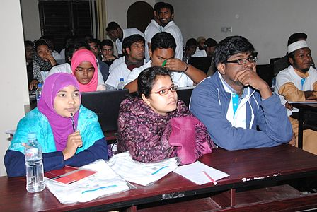 Bangla Wikipedia Workshop at Barendra University (26).jpg