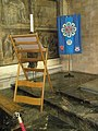 Banner in the corner of the Lady Chapel at Winchester Cathedral - geograph.org.uk - 1163813.jpg