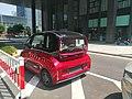 Baojun E300 test car in Sangtian Island (rear).jpg