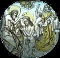 Baptismo de Cristo (provavelm. séc. XV), Palácio da Pena.png