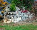Baraboo Quartzite Rock Formation - panoramio.jpg