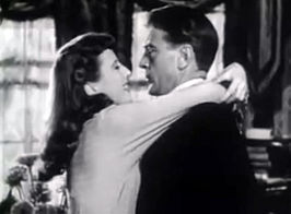 Barbara Stanwyck en Gary Cooper in Ball of Fire