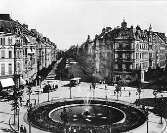 Cologne Ring - Barbarossaplatz, 1890