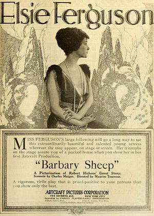 Barbary Sheep (film) - Newspaper advertisement.