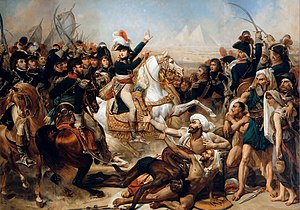 English: Battle of the Pyramids, July 21, 1798...
