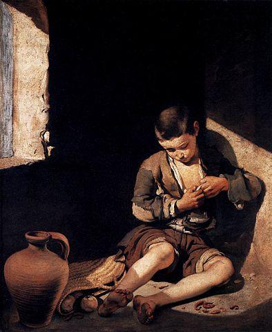 wiki Fil:Bartolom%C%A Esteban Perez Murillo The Young Beggar WGA.jpg