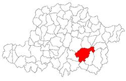 Vị trí của Bârzava