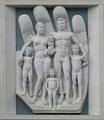 Bas relief architectural detail on building, Lincoln, Nebraska LCCN2010630345.tif