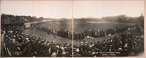 1907 World Series - Chicago Cubs vs. Detroit Tigers, Bennett Park, Oct 12, 1907.