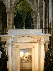 Basilica di saint Denis tomba enrico II e caterina de' Medici 02