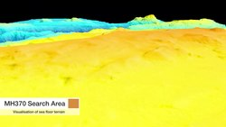 Datei:Bathymetry of the MH370 Search Area.webm