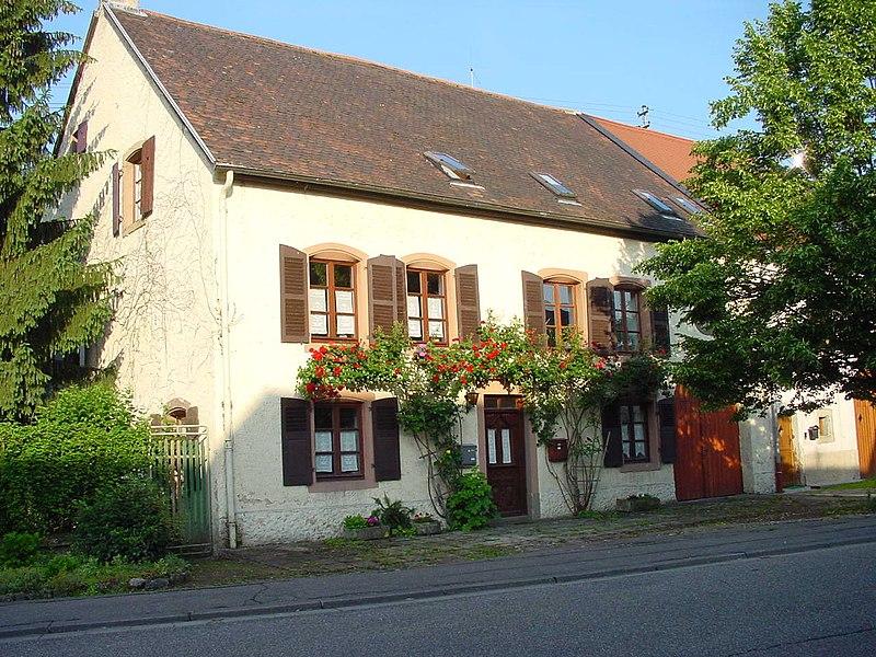 Bauernhaus in Kleinblittersdorf, OT-Rilchingen-Hanweiler um 1730