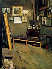 The Artist's Studio, Rue Visconti, Paris