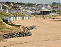 Beach huts on Summerleaze Beach.jpg
