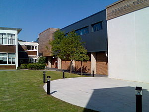 Brockenhurst College - To the right the Beacon Technology Block
