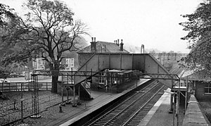 Bearsden railway station - Bearsden railway station in 1961