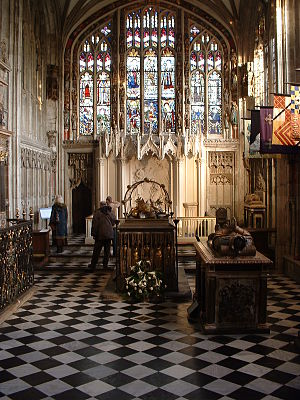 Collegiate Church of St Mary, Warwick - Image: Beauchamp Chapel