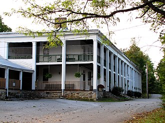 National Register of Historic Places listings in Grundy County, Tennessee - Image: Beersheba springs hotel tn 1