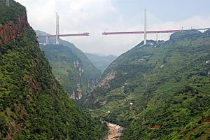 Duge Bridge - Image: Beipanjiang Duge By Highest Bridges