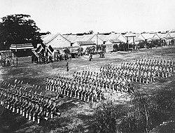 Beiyang Army in training