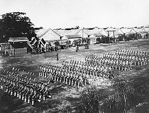 Beiyang Army troops on parade Beiyang Army.jpg