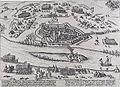 Beleg van Rijnsberch - Siege of Rheinberg in 1598 by Mendoza (Frans Hogenberg).jpg