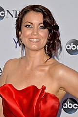 Bellamy Young at a White House event.