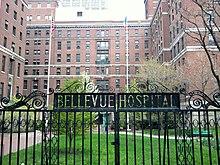 Preserved hospital front gate.