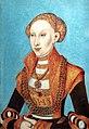 Bemberg Fondation Toulouse - Portrait de Sibylle de Clève, électrice de Saxe - Lucas I Cranach - Inv.1086 Huile sur panneau 1531.jpg