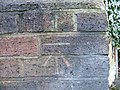 Benchmark, Greenfield Lane, Newton - geograph.org.uk - 666726.jpg