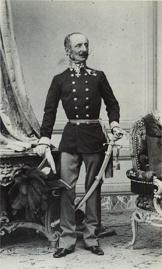 Ludwig von Benedek - Ludwig Ritter von Benedek, 1860