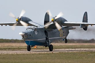 Beriev Be-12 - A Be-12 during take-off roll