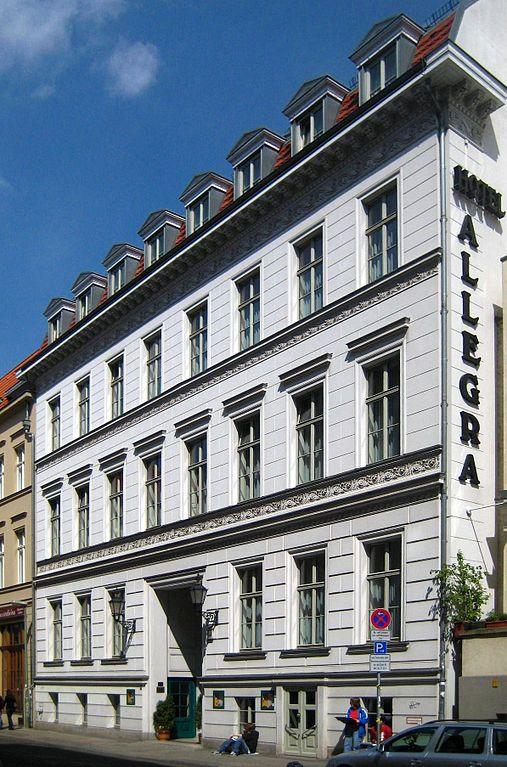 Hotel Allegra Berlin Parkplatz