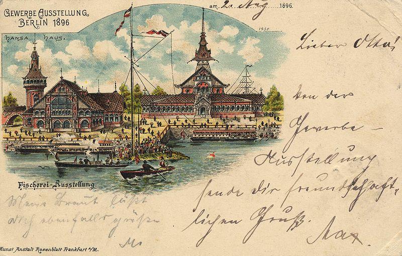 Datei:Berlin, Treptow, Gewerbeausstellung 1896, Fischerei-Ausstellung.jpg