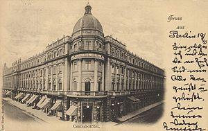 Berlin-Mitte Postkarte 050