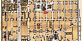 BerlinMap gedreht und zugeschnitten mit markierter Lage der Adresse Taubenstraße 31.jpg