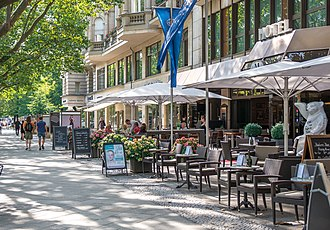 Kurfürstendamm - Restaurants at Kurfürstendamm