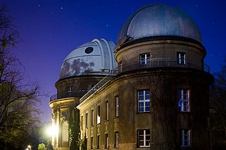 Berlin Observatory - By 1913, activities were moved to a new Observatory at Babelsberg, shown here in 2006