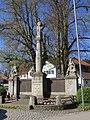 Bernbeuren - Marktpl - Kriegerdenkmal v O 02.JPG