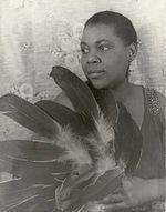 Blues singer Bessie Smith
