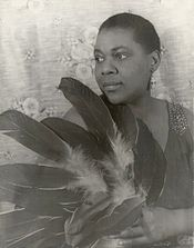 Bessie Smith powerful voice