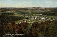 Bethlehem, NH from Mount Agassiz