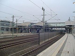 Düsseldorf Airport station railway station in Düsseldorf, Germany
