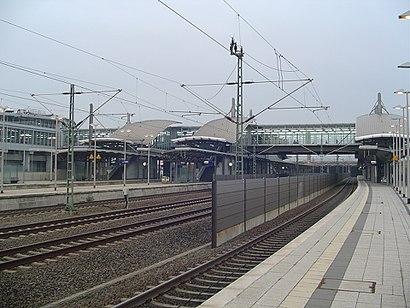 Wie Komme Ich Zu Dem Bahnhof Düsseldorf Flughafen In Düsseldorf Mit