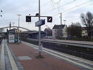 Dortmund-Mengede station Railway station in Dortmund, Germany