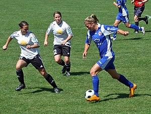 1. FFC Frankfurt - Frankfurt against Potsdam in May 2008